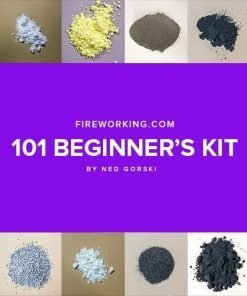 Fireworking.com 101 Beginners Kit was designed by Ned Gorski over at Fireworking.com.  This kit is all you need to following along with his Fireworking 101 tutorial